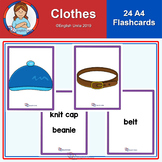 Flashcards - A4 Clothes