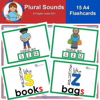 Flashcards – A4 Plural Sounds
