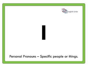 Flashcards – A4 Pronouns