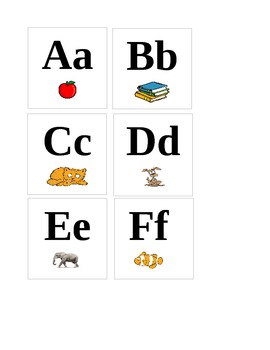 Flashcards ABC's