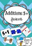 Flashcards Additions 5+