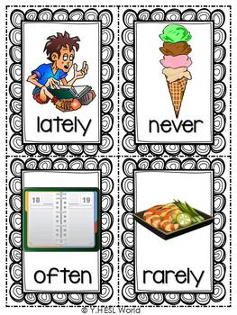 Adverbs of Time {Flashcards & a Worksheet}