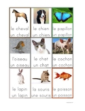 Flashcards Animals in French