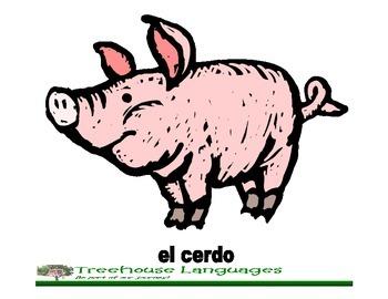 Flashcards: Animals in the farm