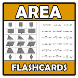 Flashcards - Area - Áreas de figuras