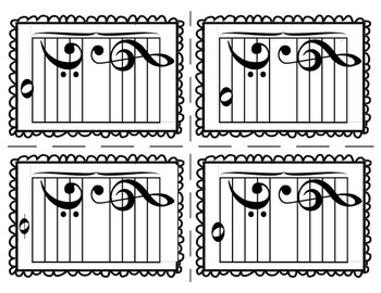 Flashcards-Bass Clef