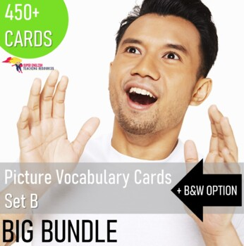 Vocabulary Picture Flashcards for ESL Newcomers - Bundle 2