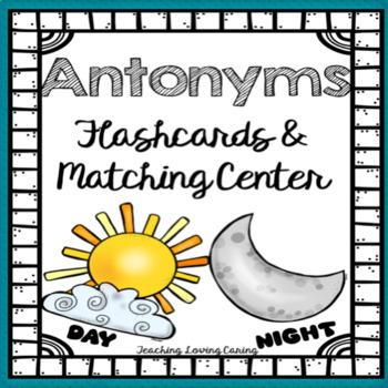 Antonyms Literacy Center