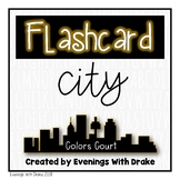 Flashcards (English Spanish and French Color Words)