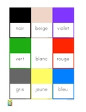 Flashcards Colors in French (1)
