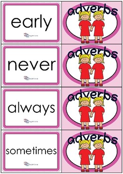 Flashcards - Common Adverbs