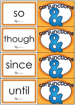 Flashcards - Common Conjunctions