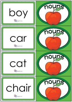 Flashcards- Common Nouns