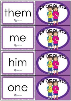 Flashcards - Common Pronouns