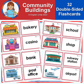 Flashcards - Community Buildings