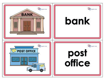 Flashcards - Community Buildings