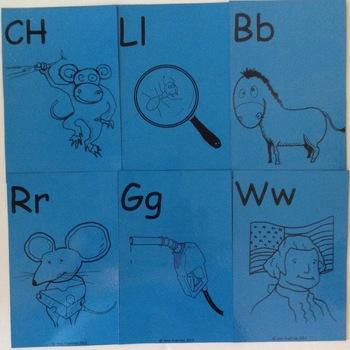 Flashcards - Conocimiento Alfabetico