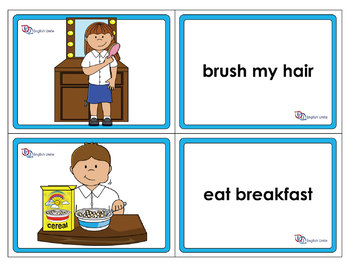 Flashcards - Daily Routines