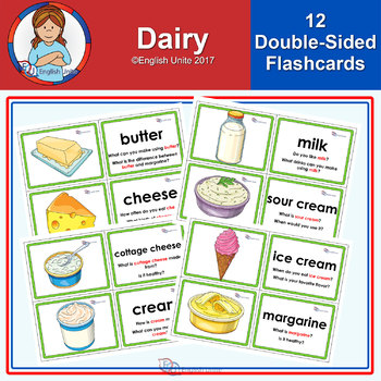 Flashcards - Dairy