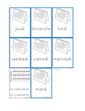 Flashcards Days of the week - Les jours de la semaine