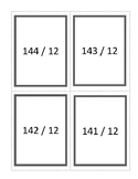 Flashcards - Division with Remainders 12s