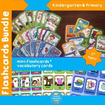 Flashcards - ESL - 27 topics