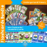 Vocabulary Flashcards for ESL - 27 topics covered