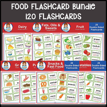Flashcards - Food Mega Bundle