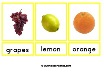 Flashcards Fruit