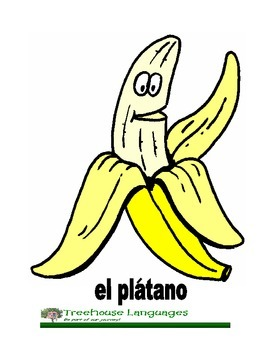 Flashcards: Frutas - fruits