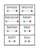 Flashcards: Grade 2 Dolch Sight Words with Tracking Lines