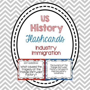 Flashcards-Industry and Immigration