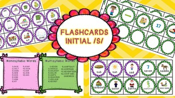 Flashcards Initial S