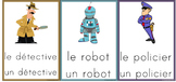 Flashcards Jobs/People/Fiction characters in French