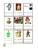 Flashcards Jobs/People/Fiction characters in French page 2