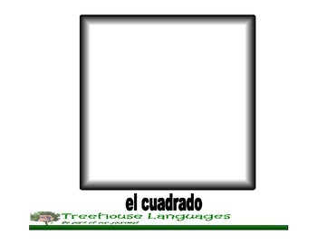 Flashcards: Las formas - shapes