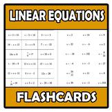 Flashcards - Linear equations - Ecuaciones lineales