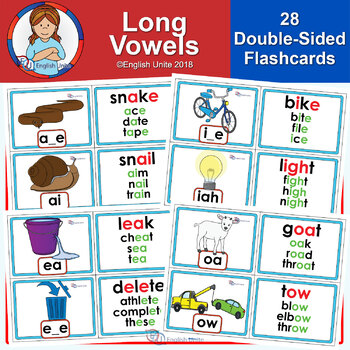 Flashcards - Long Vowels