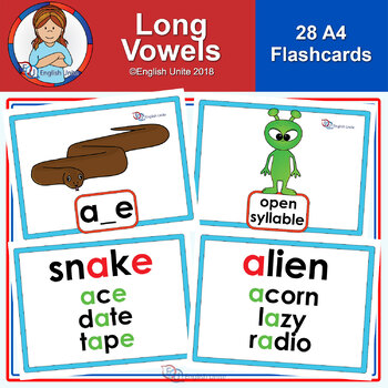 Flashcards - Long Vowels A4