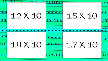 Flashcards: Multiplying Decimals with 10, 100, and 1,000