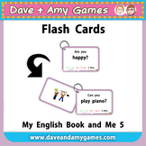 Flashcards: My English Book and Me 5