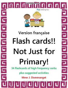 Flashcards- Not Just For Primary Students! Version française