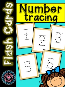 Flashcards: Number tracing 0-100