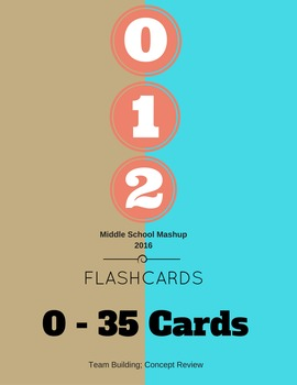 Flashcards: Numbers 0-35