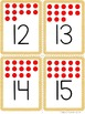 Flashcards: Numbers 1-20 {with dots}