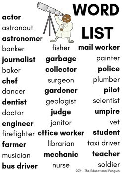 Flashcards: Occupations