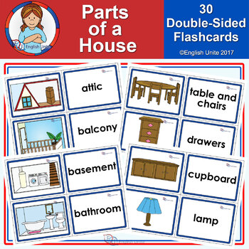 Flashcards - Parts of a house