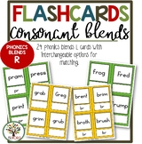 Flashcards Phonics Consonant Blends R