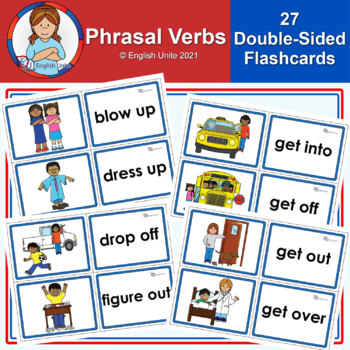 Phrasal Verbs Cards Teaching Resources Teachers Pay Teachers
