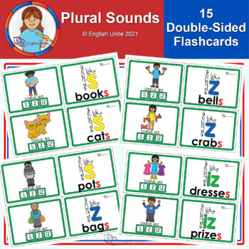Flashcards – Plural Sounds